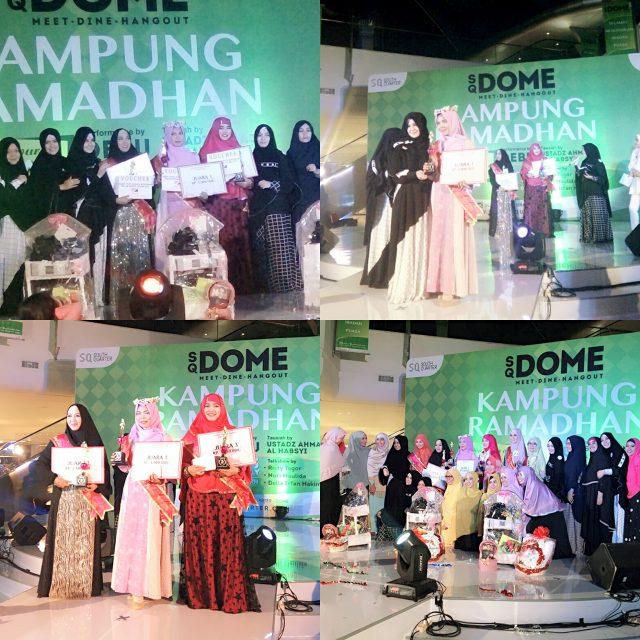 para pemenang Wajah Bunda Islami 2016